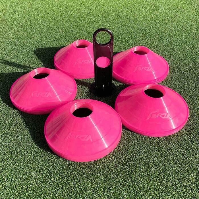 Weatherproof Plastic Soccer Marker Cones