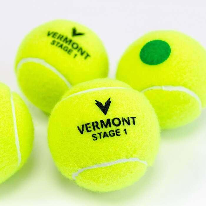 ITF Approved Mini Green Tennis Balls | Stage 1 Kids Tennis Balls