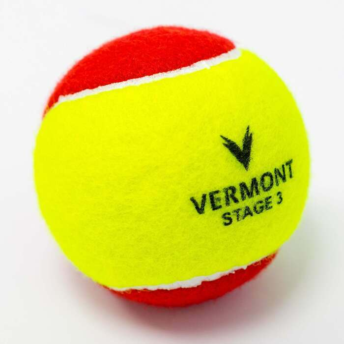 Vermont Mini Red Tennis Balls | Stage 3 Tennis Balls For Kids