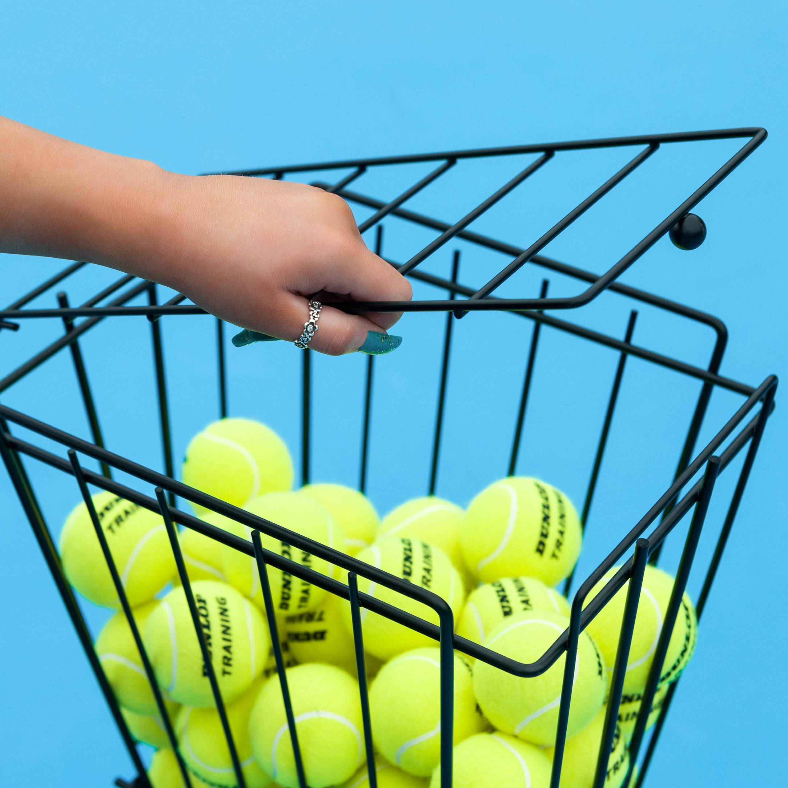 Tennis Ball Basket/Hopper