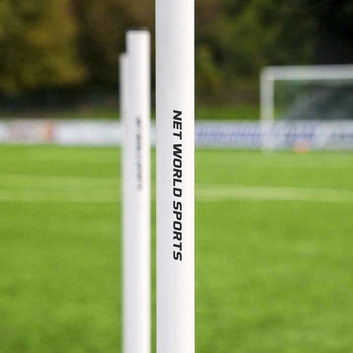 Powder Coated 4ft PVC White Pitch Marking Pole