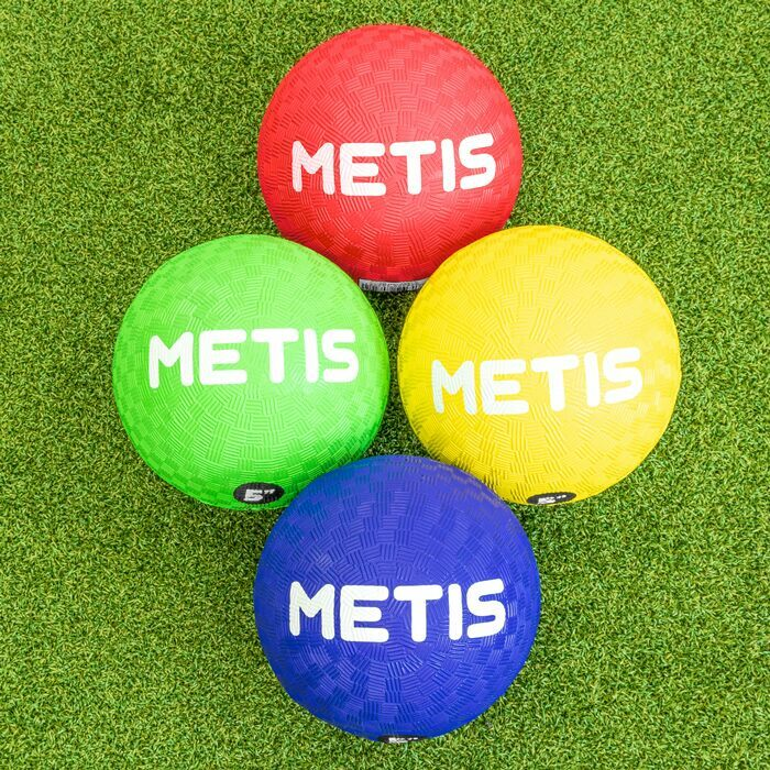 Högsynliga Dodgeballs | Gummibollar för lekplatser