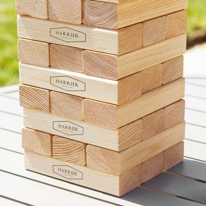 Giant Jenga Set | Premium Outdoor Games Sets