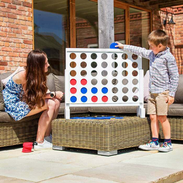 Harrier Giant Connect 4 Set | Premium Garden Games