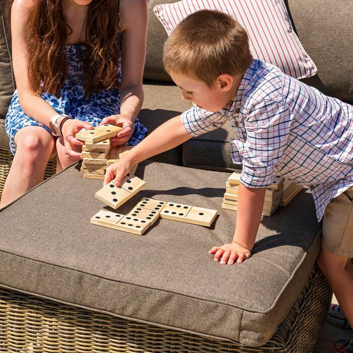 Jumbo Dominoes Set | Premium Outdoor Garden Games