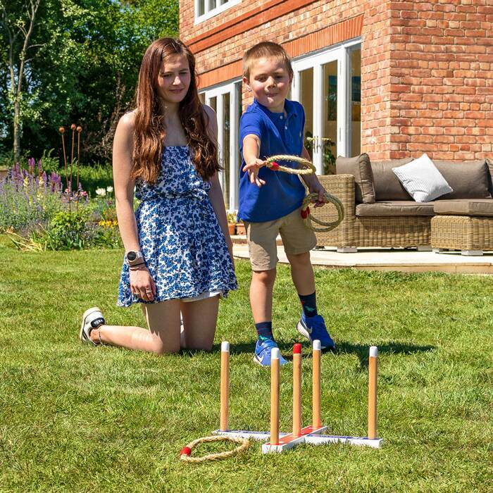 Family Garden Games | Harrier Giant Quoits Set