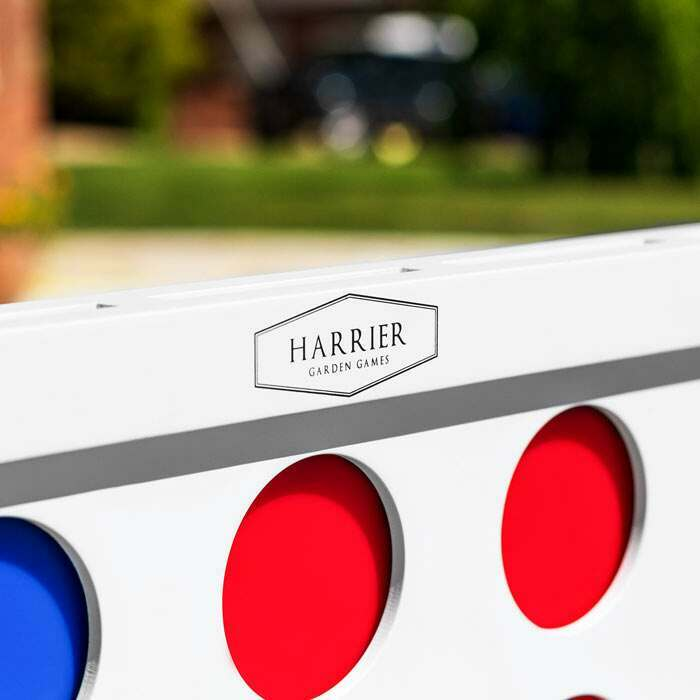 Premium Wooden Giant Connect 4 | Harrier Outdoor Backyard Games