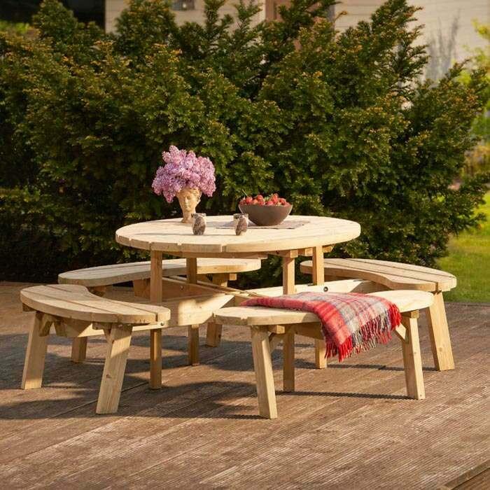 Outdoor Pub Garden Table