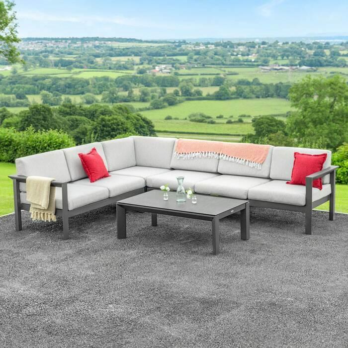 Premium Outdoor Tables & Chairs | Garden Corner Sofa
