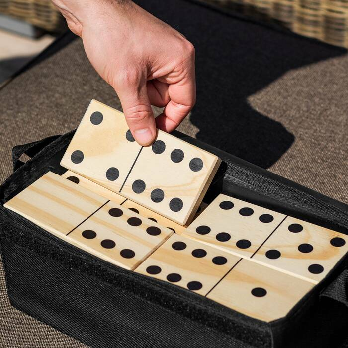 Portable Giant Dominoes Set | Portable Outdoor Games