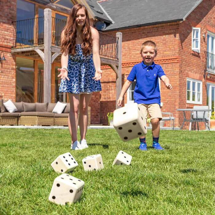 Outdoor Garden Games | Harrier Giant Dice Set