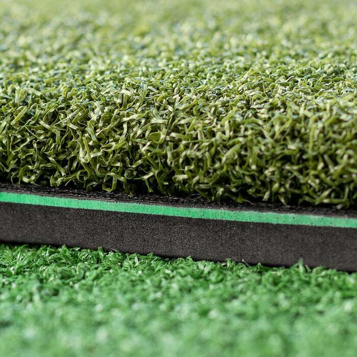 35mm Artificial Turf & 10mm EVA Rubber Base | Winter Fairway Golf Mats
