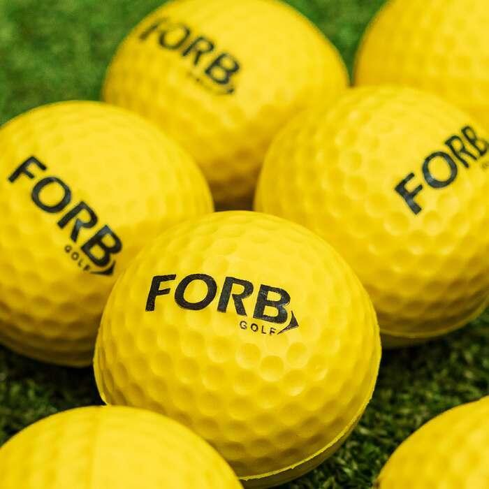 Entrenamientos de golf al interior