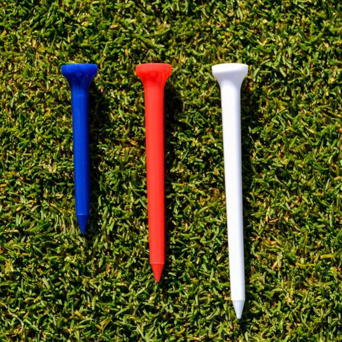 Durable Plastic Golf Tees