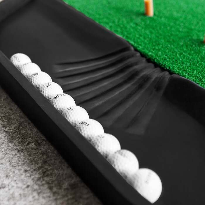FORB Golf Ball Holder Tray | Professional Golf Hitting Mats