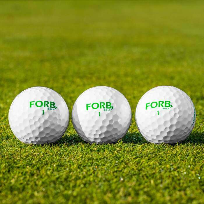 High Performance FORB F-3 Golf Balls