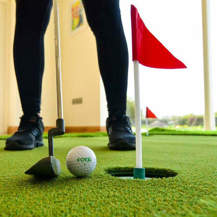 Extra stor inomhus golf putting green | Golfutrustning