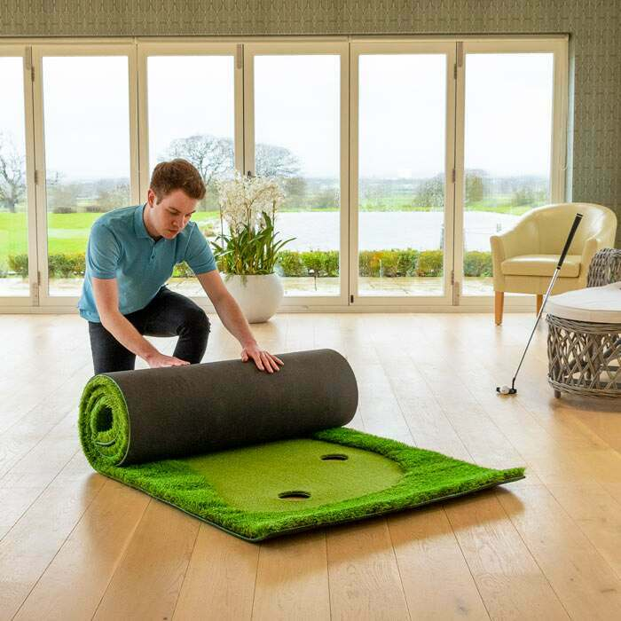 Roll Down Golf Putting Mat