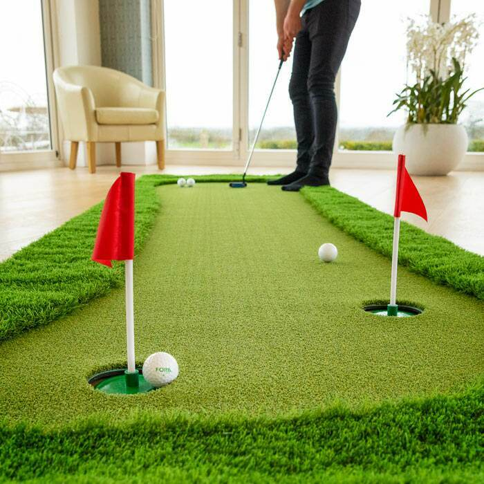 Putting Green para el Entrenamiento de Golf en Casa
