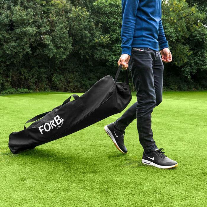 Freistehender Golfkäfig | Tragbares Golfabschlagnetz mit Tragetasche