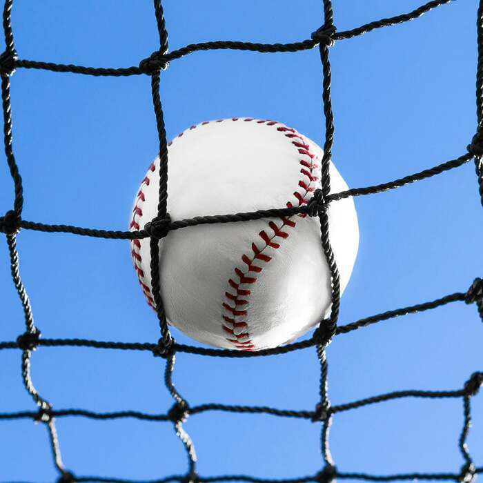 16 Sizes Of Fulled Edged Netting | Dense And Weighted Baseball Netting