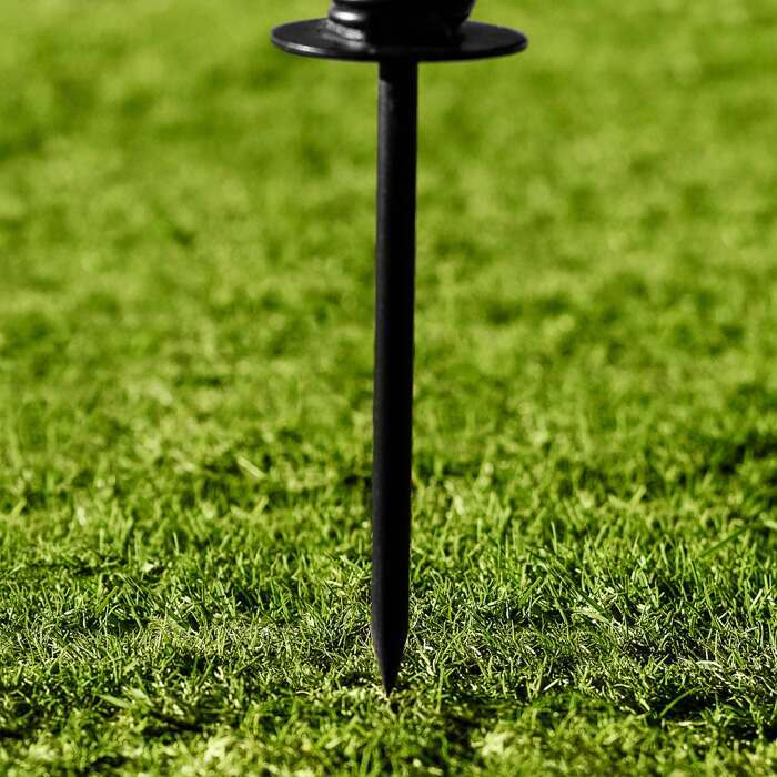 Стальной штырь для максимальной устойчивости | Отработка точности приема мяча