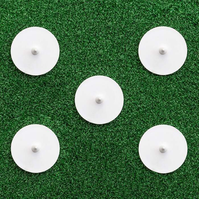 Pack Of 5 Bowlers Run Up Discs | Competitive Cricket Equipment