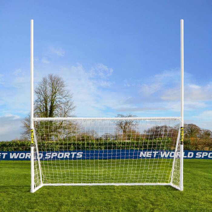 Portería PVC de fútbol gaélico para el jardín| Material junior de GAA