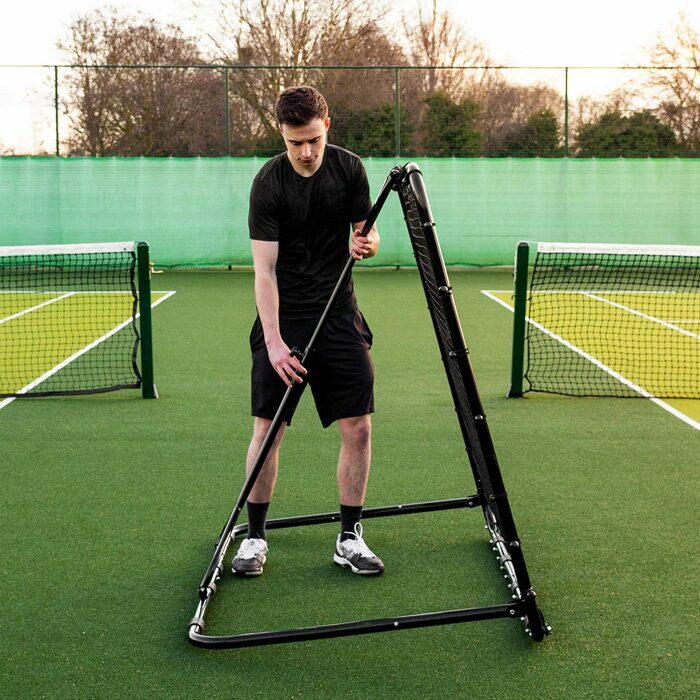 RapidFire Tennis Rebound Net With Adjustable Angle