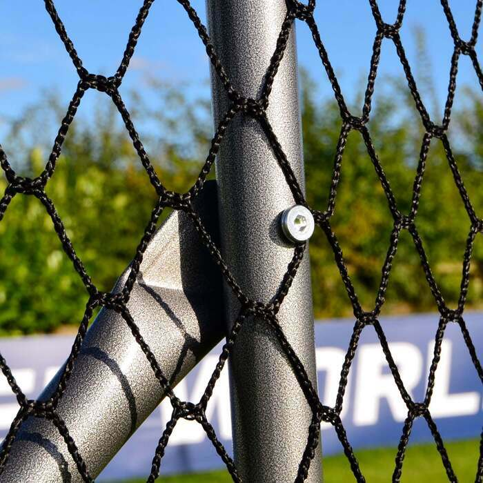 Ball Stop Net System With Adjustable Angle Option