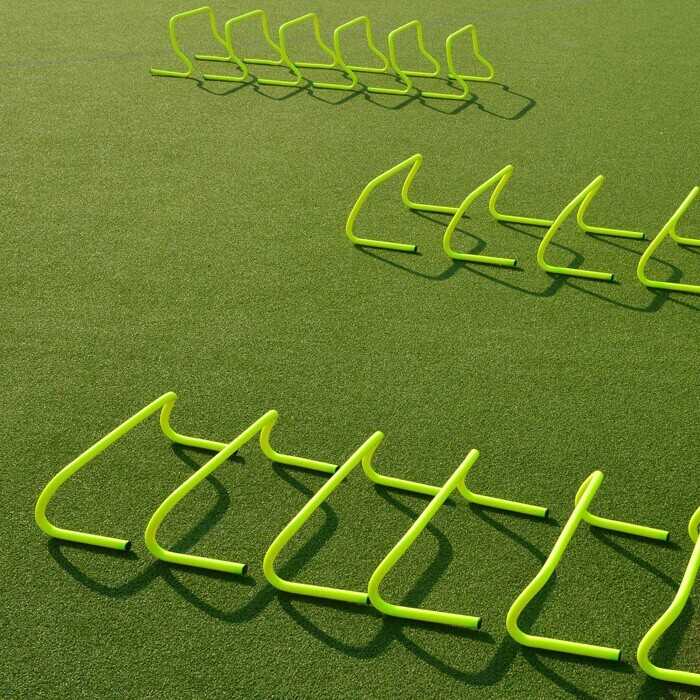 Pack of 6 Football Speed Agility Hurdles | Hurdles For Football Training Drills