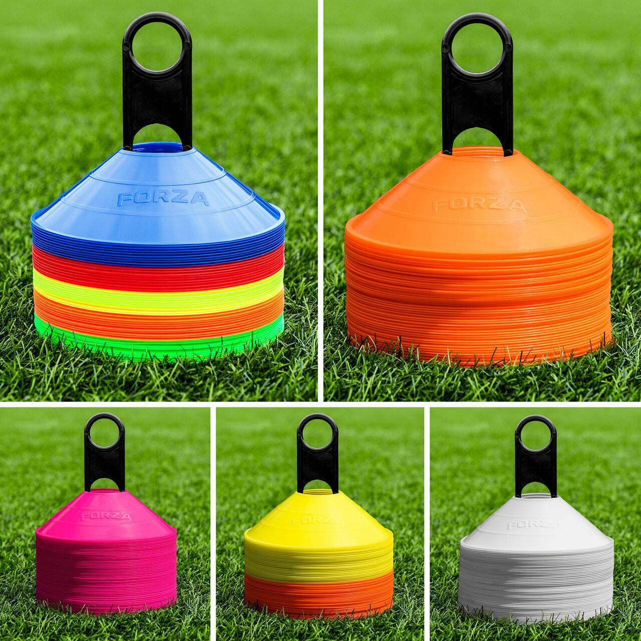Plastic Cones For Ice Hockey Training | Pack Of 50 Or 1000