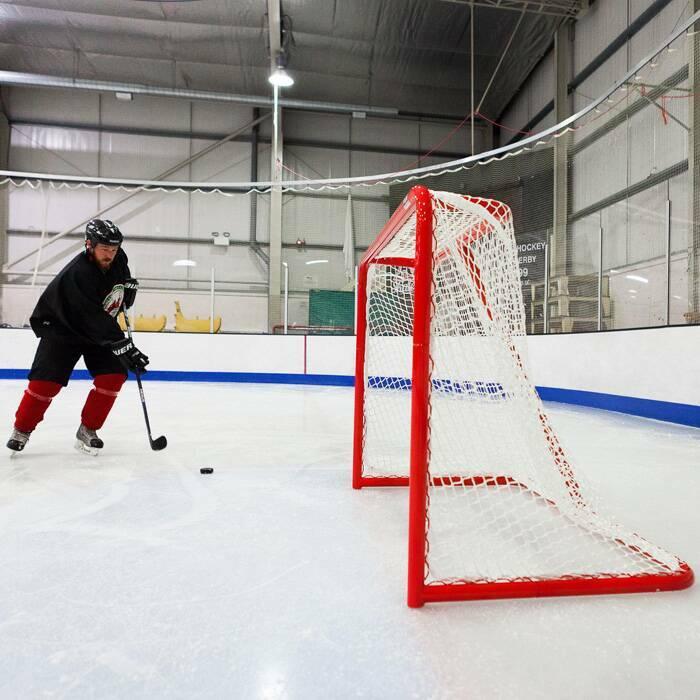 Сменная хоккейная сетка с усиленными швами