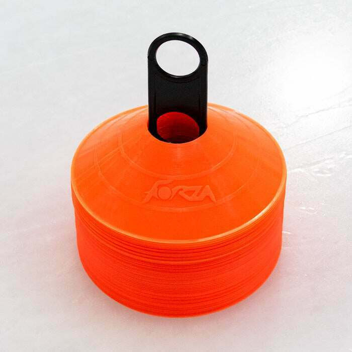Lightweight & Portable Ice Hockey Cones | Marker Cones For Ice Rinks