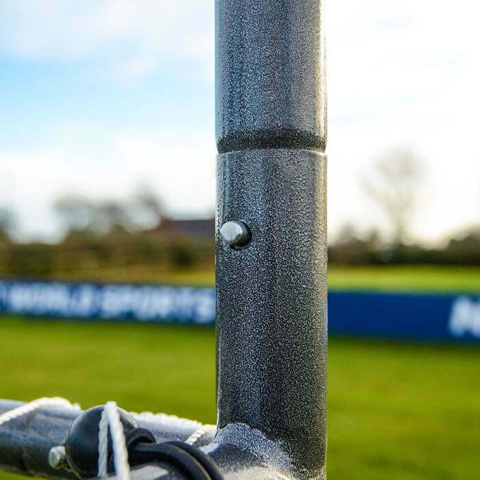 Ultra Durable GAA Goal Posts | Strong Button Locking System