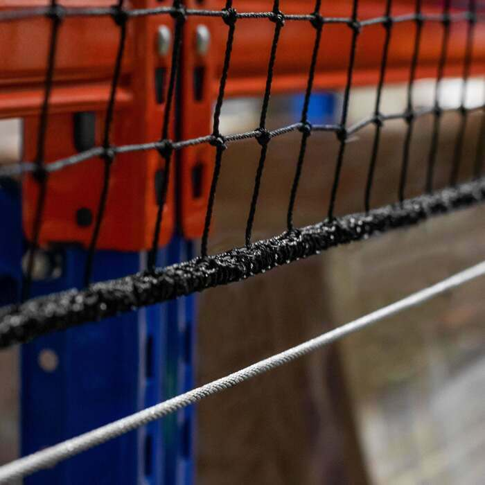 Salvaged Edged Pallet Rack Netting