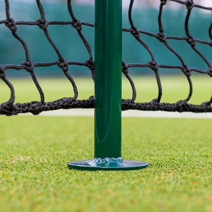 Professional Tennis Net Singles Sticks | Lightweight Aluminium Design