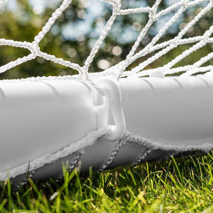 Ultra-Durable uPVC Backyard Soccer Goals | Rugby Posts For Kids