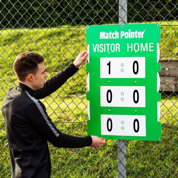 Double-Sided Tennis Scoreboard | Tennis Court Equipment