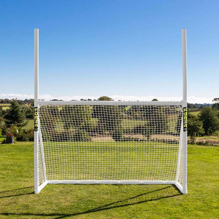 Durable Backyard Rugby & Soccer Goal Posts | Reinforced uPVC Goal