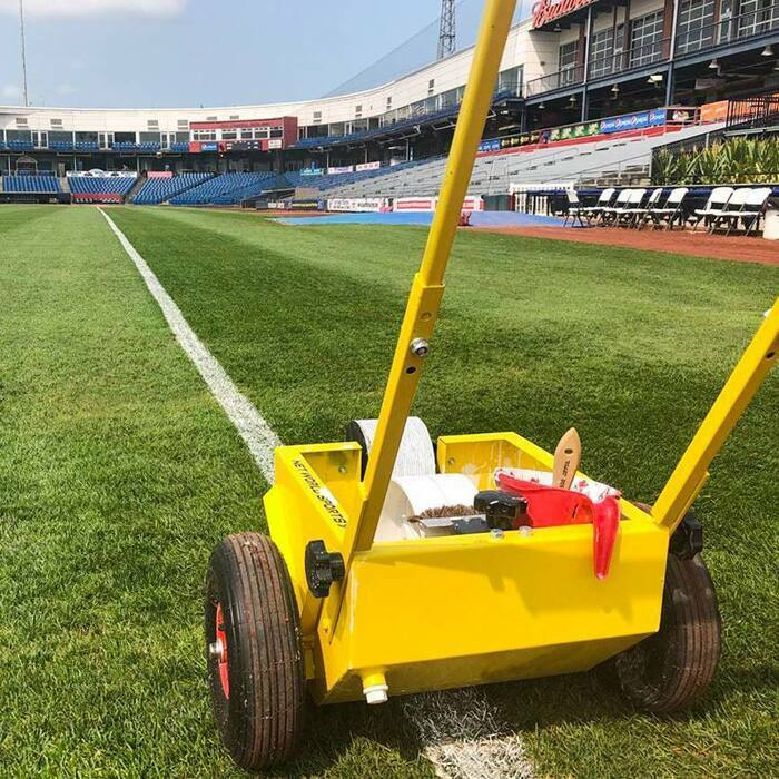 Transfer Line Marking Machine For Sports Pitches | Baseball Line Marking Machine