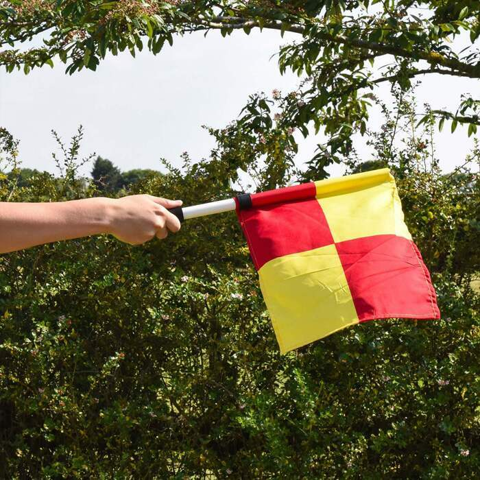 UEFA Grensrechter Standaard Vlaggen