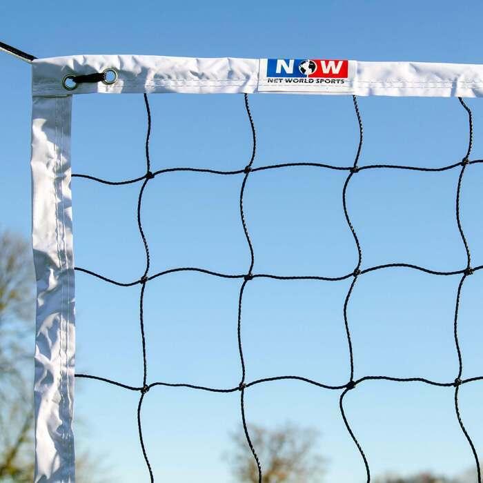 Filet de Volley avec Bande Horizontale en Corde | Fiet Réglementaire de la FIVB
