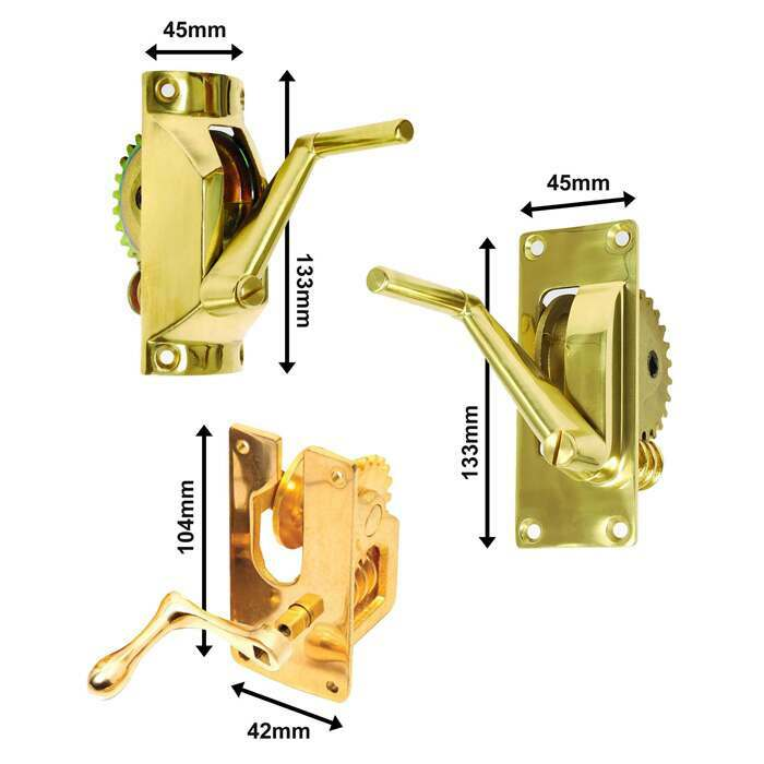 Large Square, Large Round & Small Square Winder Mechanisms