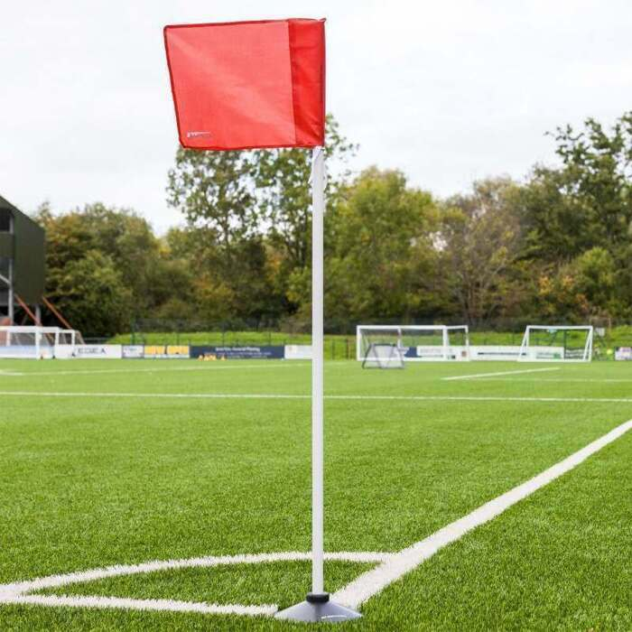 Ultra-Durable Rubber Bases For 25mm Thick Corner Flags