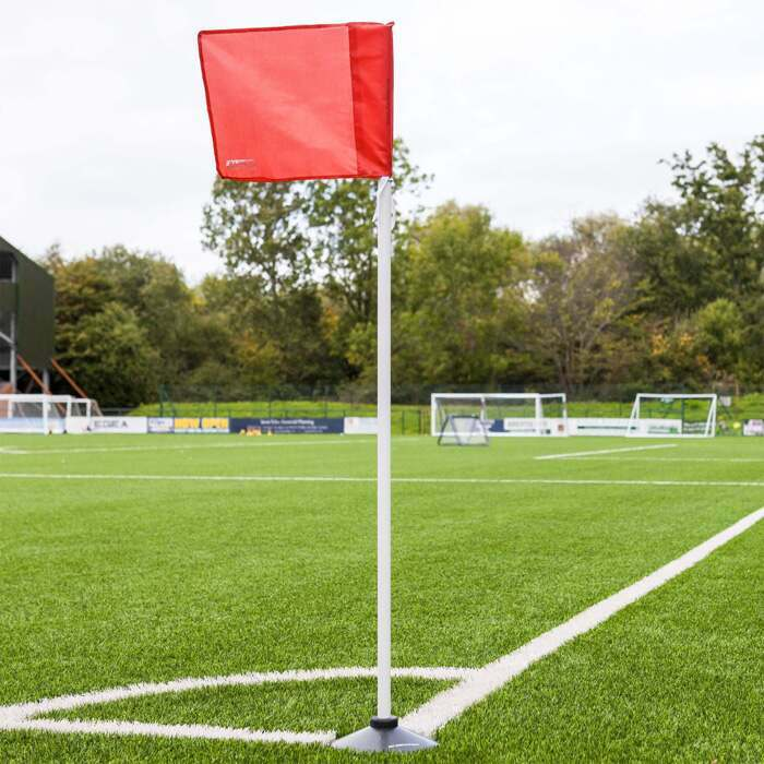 PVC 4.5ft Football Corner Flags