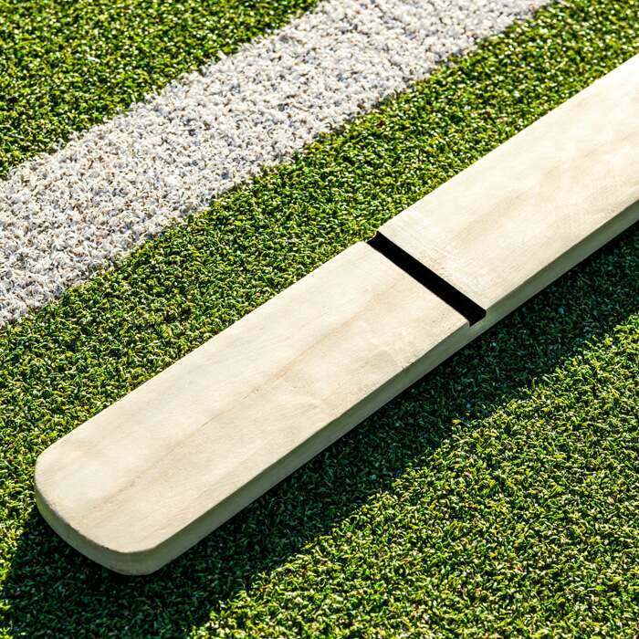 Tennisnetz Messlatte aus Holz | Tennisspielplatzausrüstung