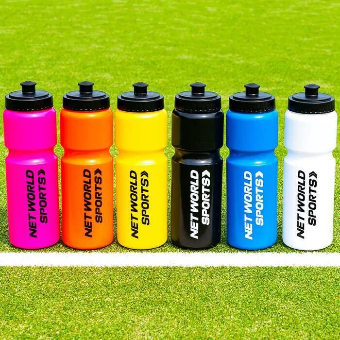 Botella de plástico blando sin BPA disponible en varios colores