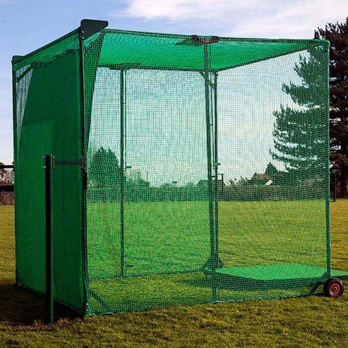 Concertina Golf Cage For Driving Practice