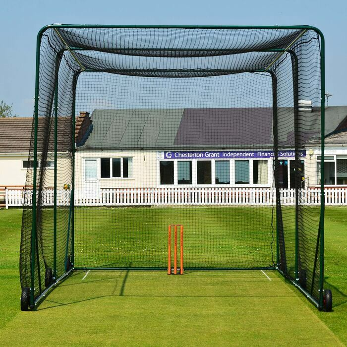 Durable Steel Structure & Rot Proof Net | Portable Cricket Cage
